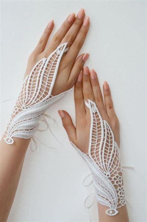 Lace Wedding Gloves white lace wedding gloves fashion