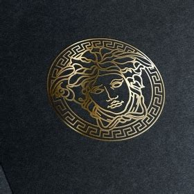 logo versace psd silver logo mockup psd pixsector