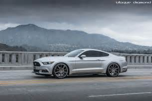 Mustang Gt 2012 Black 22 Inch Staggered Wheels