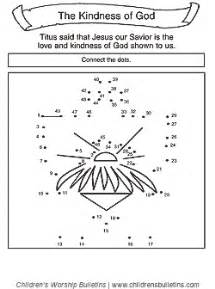 sunday activities about kindness children s