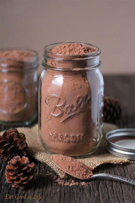 mix this with the other healthier cocoa mix recipe healthy drinks