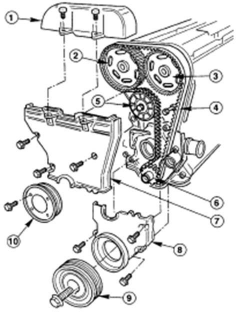 Parts Diagrams - Ford Fiesta Timing Belts Diagrams