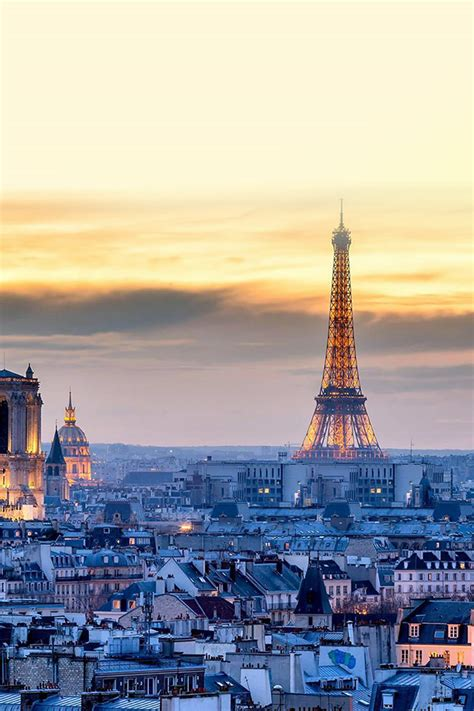 freeios paris night romantic eiffel parallax hd