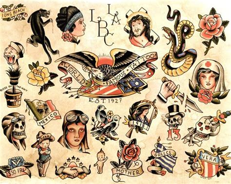 love old classic american tattoos tattoos amp tattooed