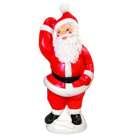 plastic light up santa where to buy blow mold yard decorations
