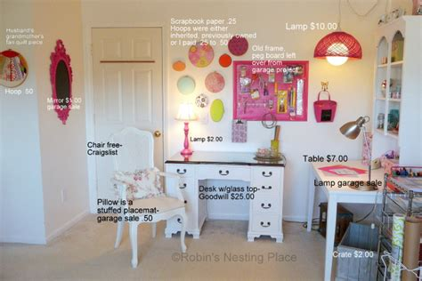 craft room ideas on a budget robins nesting place craft room on a budget