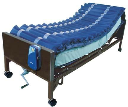 hospital bed air mattress alternating pressure mattress overlay system with low air loss for hospital bed rent