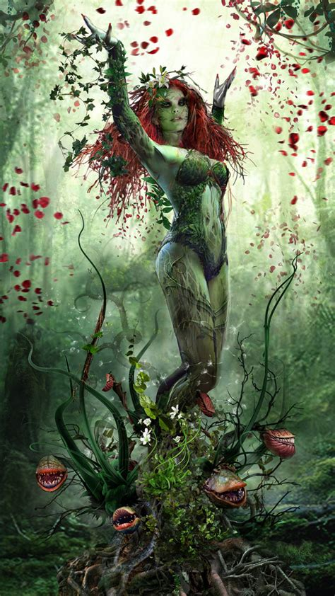 poison ivy redux by uncannyknack on deviantart