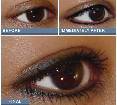 tattoo eyeliner swelling 20 best tattooed eyeliner images on pinterest makeup