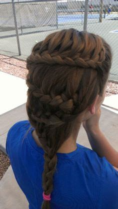 tennis braids styles sporty braid braid hairstyle and love the tennis court