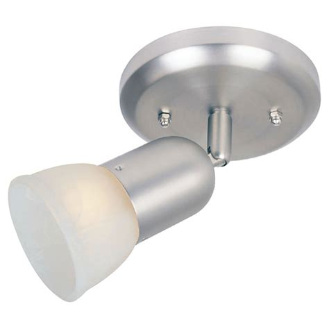 omni 1 light ceiling fixture satin nickel rona