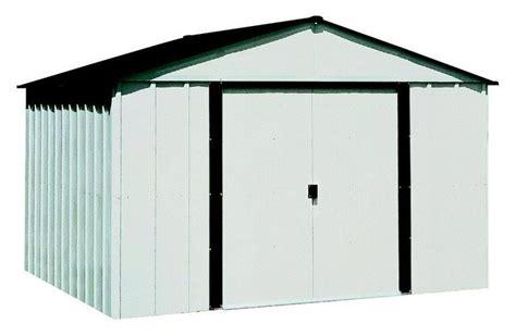 storage sheds lowes arrow sheds backyard shed kits lowes arrow 10 ft x 8 ft galvanized steel storage shed lowe s