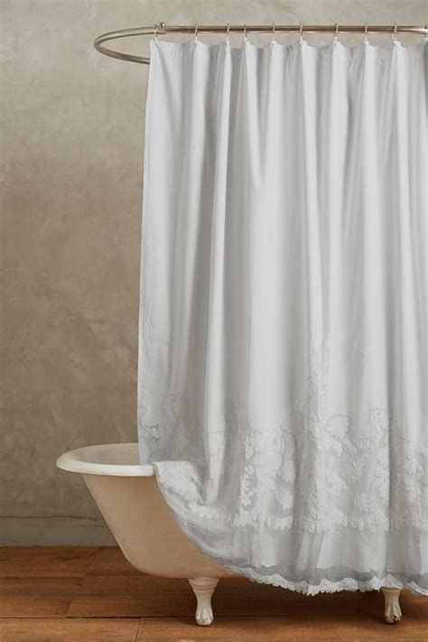 Cotton Shower Curtains White Cotton Shower Curtain Curtain Menzilperde Net