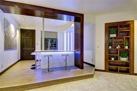 Kitchens With Open Shelving Ideas basement bar amp shelves contemporary home bar denver