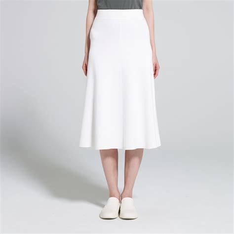 Hana Flare A Line Skirt uniqlo u 2017 clothing shop