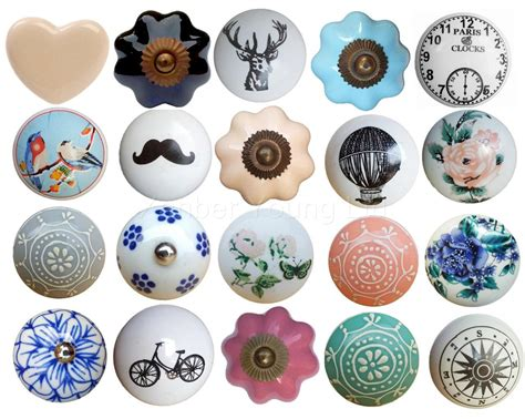 Draw Knobs by Vintage Ceramic Flower Drawer Knob Pull Handle Door