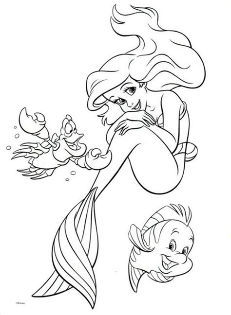 little mermaid easter coloring pages printesa ariel planse de colorat planse de colorat