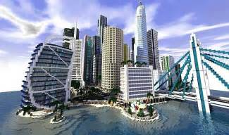 Modern City Infinity City The Most Complex Modern City Map Minecraft 1 9 1 8 9 1 7 10 Mods Resource
