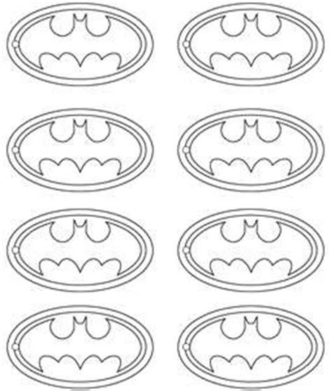 printable batman logo for cake 9 best batman template images on pinterest superhero