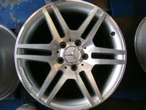 Used Mercedes Rims 17 Quot Mercedes C Class Amg Factory Wheels Used Set Of 4