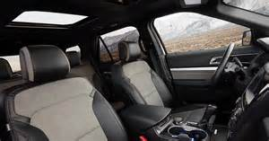 Ford Explorer Interior Pictures by 2017 Ford Explorer Xlt Sport Package Interior Photos
