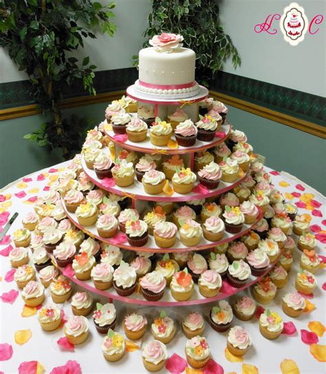how to make your own wedding cake cupcakes