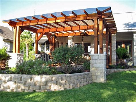 Pergola Coverings For Rain » Home Design