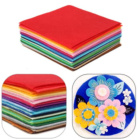 Handmade Craft Shop - aliexpress buy 50x40cm squares non woven felt fabric