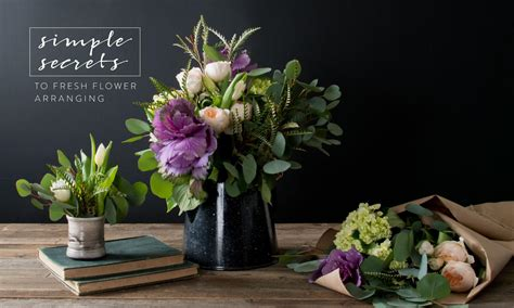 Floral Arrangements by Simple Secrets To Flower Arranging Magnolia Market