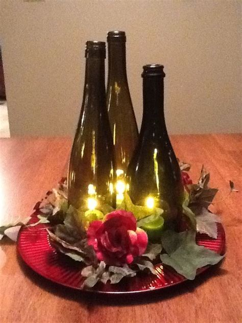 wine bottle candle centerpieces diy wine bottle wedding centerpieces wine bottle centerpiece candle decoration wedding