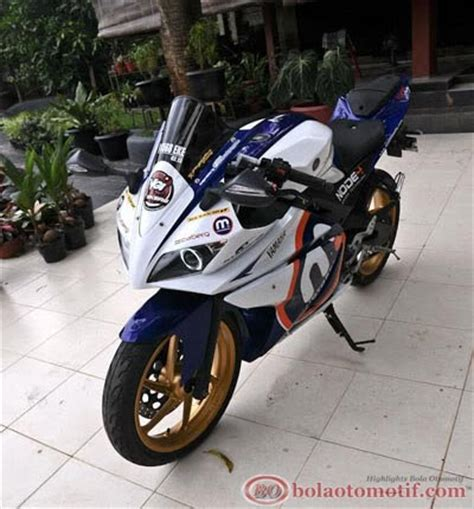 Fairing Depan R125 Mix Fi modifikasi yamaha v ixion konsep yzf r125 bolaotomotif