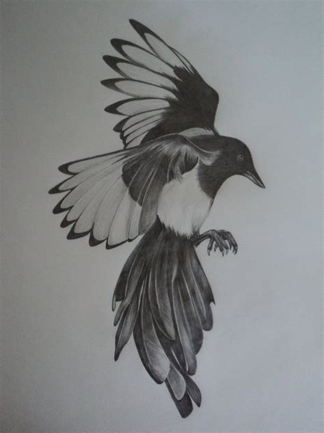 magpie tattoo magpie sleeve pictures inspiration