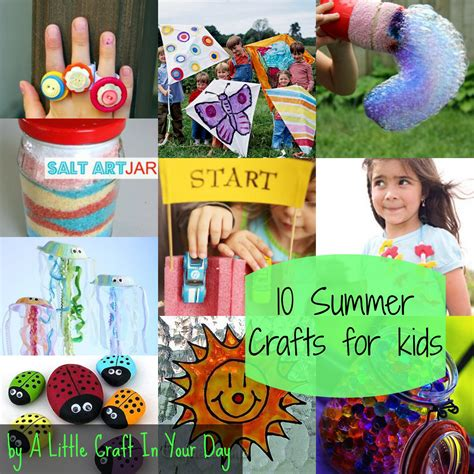 kid crafts kid friendly summer crafts a craft in your day