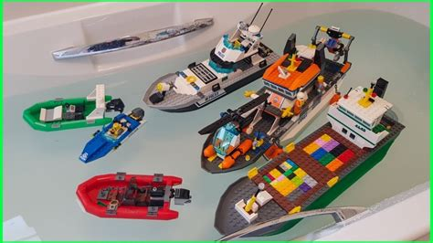 lego river boat lego boats that float youtube