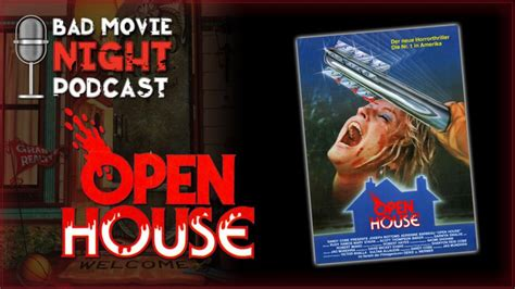 open house movie open house 1987 bad movie night movie review and discussion
