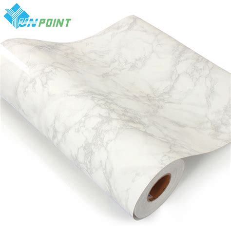 Wallpaper Pvc Marmer 60x200cm korea quality grey marble decorative stickers furniture desktop pvc self adhesive wall