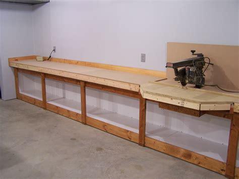 garage garage workbench ideas  complete  finish   projects fearlessprodcom