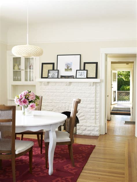 make room how to make a small dining room look bigger