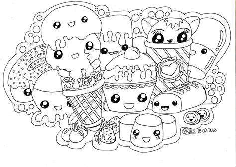 kawaii japanese coloring pages kawaii sweets doodle kawaii sweets doodle full size