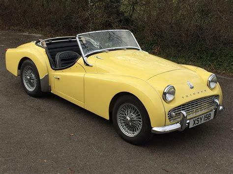 triumph tr3 for sale classic cars for sale uk