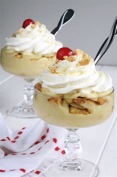 Cool With A Spicy Fruit Dessert by Microwave Banana Pudding A Cool Dessert For A Summer Day