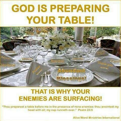 Thou Preparest A Table by Pin By Toya Samuels On Religious Verses Quotes