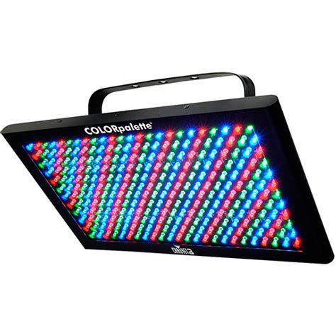 chauvet color palette chauvet dj colorpalette led lighting fixture
