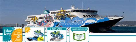 key west boat shuttle from fort lauderdale one day cruise to bahamas from miami beach
