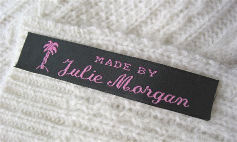 Handmade Clothing Labels - woven clothing labels sew in labels for handmade items