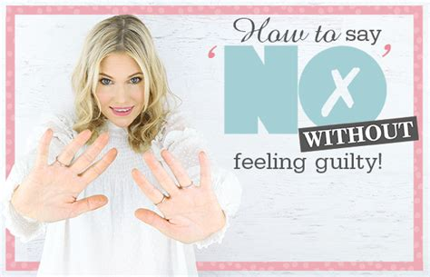 Feeling Guilty No More by How To Say Quot No Quot Without Feeling Guilty And The