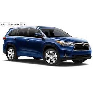 toyota highlander colors 2015 toyota highlander colors