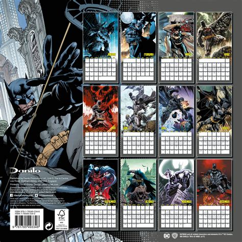 Calendar Batman Batman Comics Calendars 2018 On Abposters