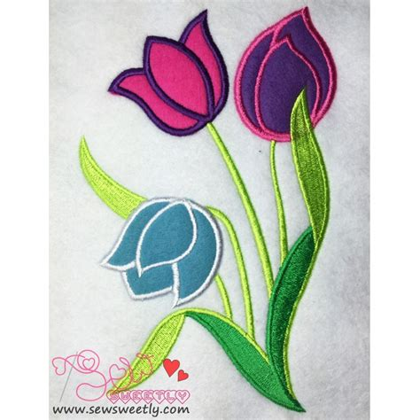 machine applique designs flowers machine applique design