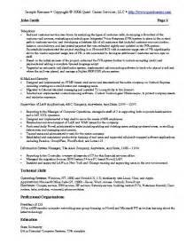 Sample Resume Example 3 It Resume Software Development